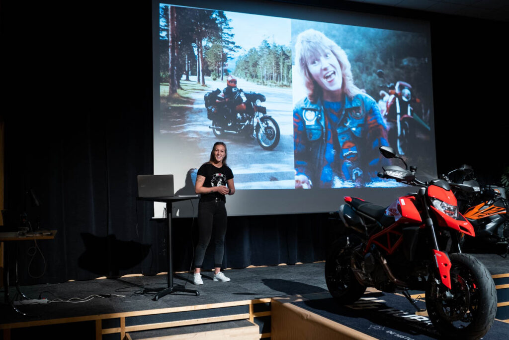 Runa Grydeland forteller om sin tur i Norge denne sommeren.